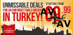 Авиабилеты в Стамбул от 55 евро