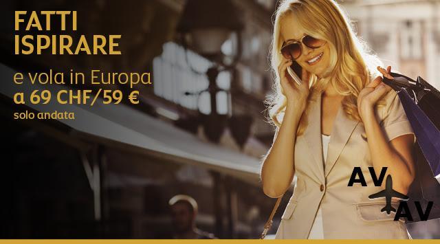 Авиабилеты по Европе от 59 евро
