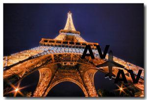 Авиабилеты в Париж со скидкой