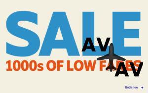 Распродажа перелетов от SAS